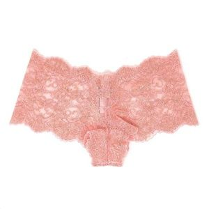 Victoria's Secret Pink Shimmer Lace Shortie